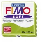 FIMO Soft Apple Green полимерная глина, запекаемая в печке, уп. 56 гр.цвет: зеленое яблоко, арт.8020-50