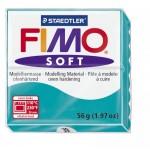 FIMO Soft Peppermint полимерная глина, запекаемая в печке, уп. 56 гр. цвет: мята арт.8020-39
