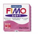 FIMO Soft Raspberry полимерная глина, запекаемая в печке, уп. 56 гр. цвет: малиновый арт.8020-22