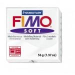FIMO Soft White полимерная глина, запекаемая в печке, уп. 56 гр. цвет: белый арт.8020-0