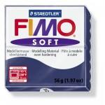 FIMO Soft Windsor Blue полимерная глина, запекаемая в печке, уп. 56 гр. цвет: королевский синий арт.8020-35