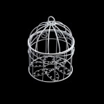 Клетка Y-810 арт.КЛ21529 ажурная 8*10см металл