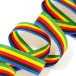 Лента декоративная Олимпийская арт.с3727г17 рис. 7936 шир. 23 мм уп. 5 цветов