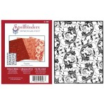 Металлический трафарет для тиснения Spellbinders, Flourish I2-1009