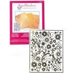 Металлический трафарет для тиснения Spellbinders, Flowers I2-1004