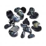 Мозаика Creativ арт.55535 черная, разные формы, 200 гр диам. 10-25 мм