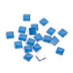 Мозаика стеклянная арт.CC735 Королевский синий, 1х1см 100г