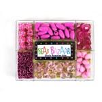 Набор с бусинами BEAD BAZAAR Цепная реакция Розовый рай арт.505
