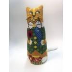 Набор для изготовления кукол (вышивка), Кот арт.CP-201 22 см