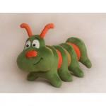 Набор для изготовления текстильной игрушки 28 см Гусеница арт.С003, Ваниль