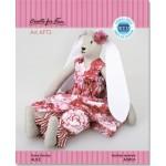 Набор для изготовления текстильной игрушки арт.KFT21 Веселые кролики - АЛИСА