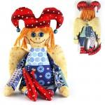 Набор для изготовления текстильной игрушки арт.ПА-306 Петрушка-Ангел 27,5 см