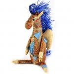 Набор для изготовления текстильной игрушки арт.ПА-307 Звёздный Пегас 29,5 см