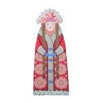 Набор для шитья и вышивания чехол на бутылку арт.МП-16х37- 8221 Метелица