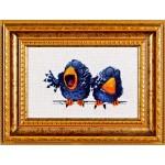 Набор для вышивания Алисена арт.1017 Про птичек 1 17*12 см