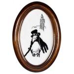 Набор для вышивания Алисена арт.1019 Денди 8*14 см
