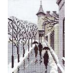 Набор для вышивания Алисена арт.1020 Городские силуэты 15*19 см