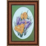 Набор для вышивания Алисена арт.1025 Первоцвет 7*11 см