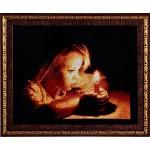 Набор для вышивания Алисена арт.1036 Девочка со свечей 26*19 см