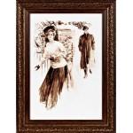 Набор для вышивания Алисена арт.1039 Снежки 25*37 см