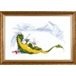 Набор для вышивания Алисена арт.1051 Дракон 50*30 см