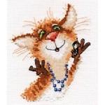 Набор для вышивания арт.Алиса - 0-106 Алло-о 12х13см