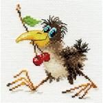Набор для вышивания арт.Алиса - 0-107 Вороненок 12х12см