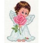 Набор для вышивания арт.Алиса - 013 СР Ангелок любви 10х14 см