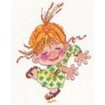 Набор для вышивания арт.Алиса - 015 М Клара 11х14 см