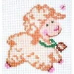Набор для вышивания арт.Алиса - 019 М Бяша 7х7 см