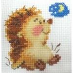 Набор для вышивания арт.Алиса - 020 М Доброй ночи 7х7 см