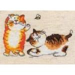 Набор для вышивания арт.Алиса - 029 СР Жу-жу (лен) 15х10 см