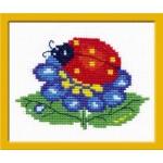 Набор для вышивания арт.ЧИ-10-09 (Д-064) М Божья коровка 10x7 см
