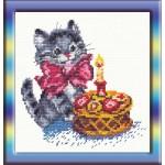 Набор для вышивания арт.ЧИ-13-08 (Д-038) СР День рождения 14х14см