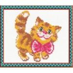 Набор для вышивания арт.ЧИ-15-07 (Д-078) СР Котик 10х12см