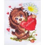 Набор для вышивания арт.ЧИ-16-12 СР С любовью 12х16 см