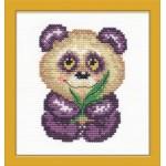 Набор для вышивания арт.ЧИ-17-04 (Д-072) М Панда 8х10см