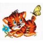 Набор для вышивания арт.ЧИ-18-35 СР Нежный возраст 13х11 см