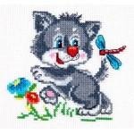 Набор для вышивания арт.ЧИ-18-44 СР Серенький волчок 12х11 см