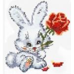 Набор для вышивания арт.ЧИ-18-48 СР Зайчишка 11х12 см