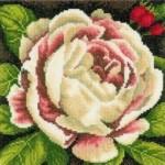 Набор для вышивания арт.LANARTE-144517 Белая Роза