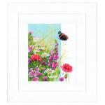 Набор для вышивания арт.LANARTE-144525 Полевые цветы 24х29 см