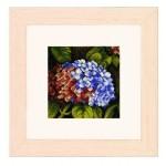 Набор для вышивания арт.LANARTE-144564А Гортензия 18,5х18,5 см