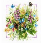 Набор для вышивания арт.LANARTE-144571А Летний букет