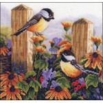 Набор для вышивания арт.LANARTE-145543 Воркующие птички