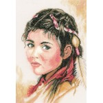 Набор для вышивания арт.LANARTE-145638 Юная Скво