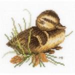 Набор для вышивания арт.LANARTE-146976А Утенок на отдыхе