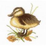 Набор для вышивания арт.LANARTE-146978А Утенок на отдыхе 2
