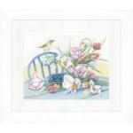 Набор для вышивания арт.LANARTE-146980 Нарцисы на столе