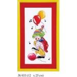 Набор для вышивания арт.Овен - 033 СР Клоун До 12x25 см